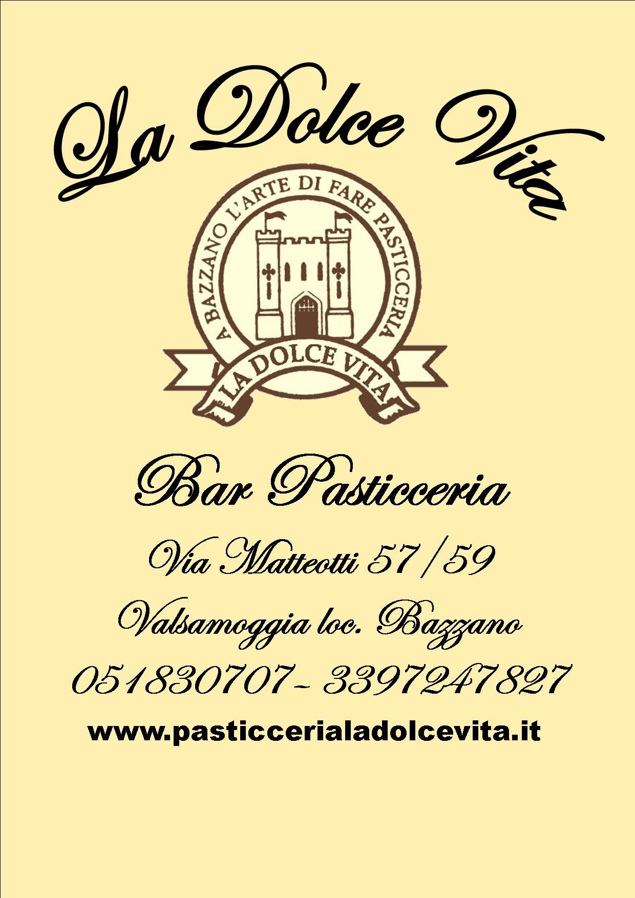 super popular 4bd43 c6ad4 Pasticceria La Dolce Vita - Centropercentro