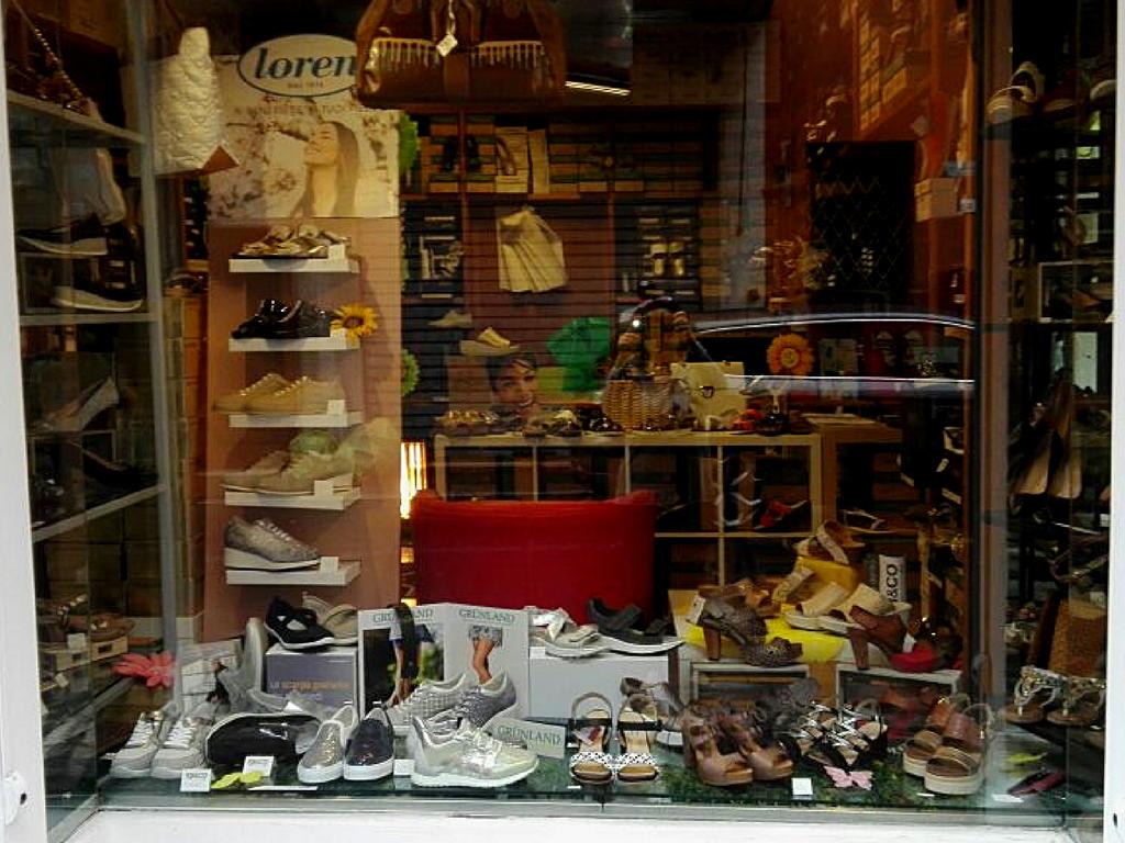 calzature vetrina